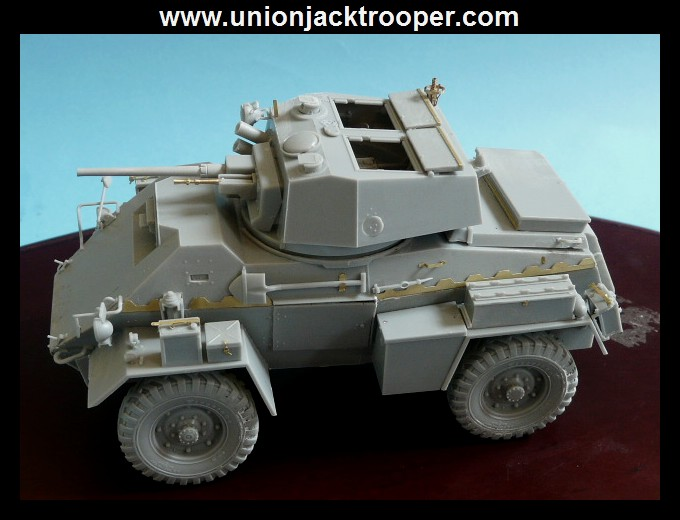 peinture - [Unionjacktrooper] HUMBER ARMOURED CAR Mk.IV BRONCO-peinture en cours'13/06) P1030414