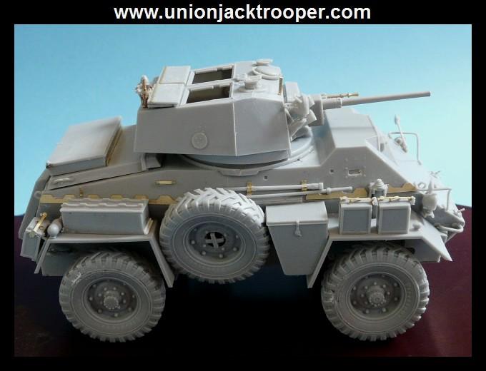 peinture - [Unionjacktrooper] HUMBER ARMOURED CAR Mk.IV BRONCO-peinture en cours'13/06) P1030419