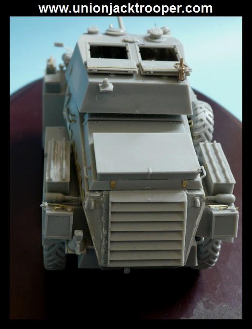 peinture - [Unionjacktrooper] HUMBER ARMOURED CAR Mk.IV BRONCO-peinture en cours'13/06) P1030425