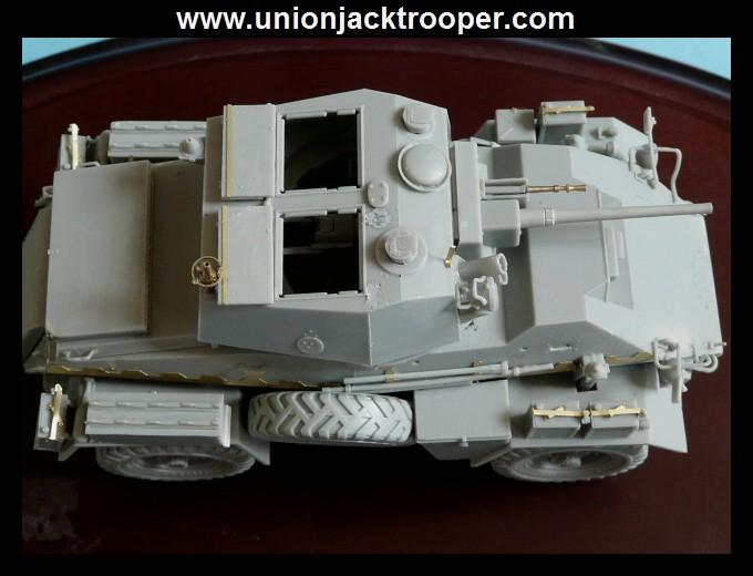 peinture - [Unionjacktrooper] HUMBER ARMOURED CAR Mk.IV BRONCO-peinture en cours'13/06) P1030426