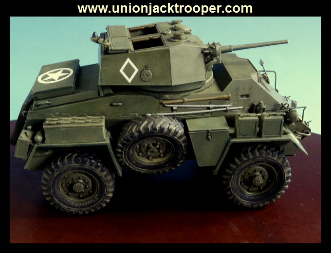 peinture - [Unionjacktrooper] HUMBER ARMOURED CAR Mk.IV BRONCO-peinture en cours'13/06) P1030428