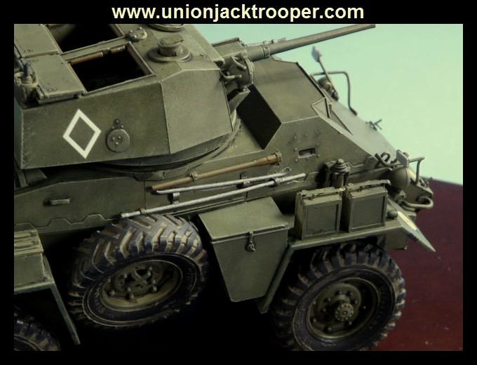 peinture - [Unionjacktrooper] HUMBER ARMOURED CAR Mk.IV BRONCO-peinture en cours'13/06) P1030429
