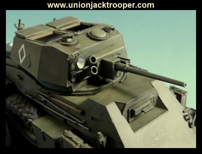 peinture - [Unionjacktrooper] HUMBER ARMOURED CAR Mk.IV BRONCO-peinture en cours'13/06) P1030431