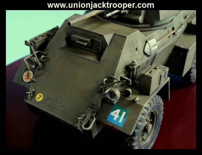 peinture - [Unionjacktrooper] HUMBER ARMOURED CAR Mk.IV BRONCO-peinture en cours'13/06) P1030432