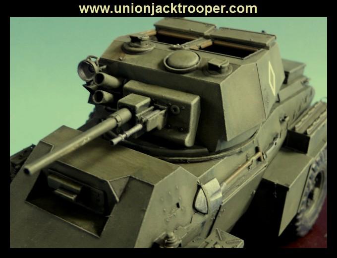 peinture - [Unionjacktrooper] HUMBER ARMOURED CAR Mk.IV BRONCO-peinture en cours'13/06) P1030433