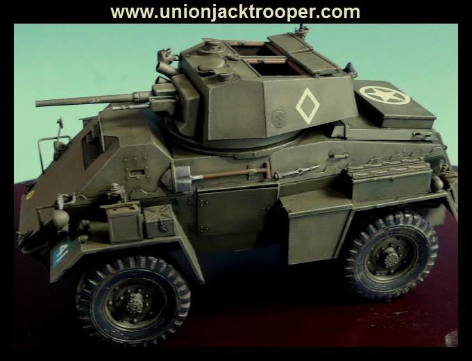 peinture - [Unionjacktrooper] HUMBER ARMOURED CAR Mk.IV BRONCO-peinture en cours'13/06) P1030436