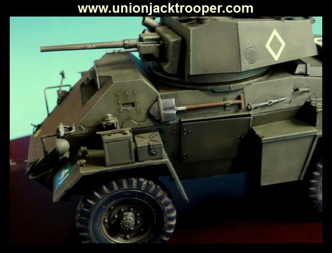 peinture - [Unionjacktrooper] HUMBER ARMOURED CAR Mk.IV BRONCO-peinture en cours'13/06) P1030439
