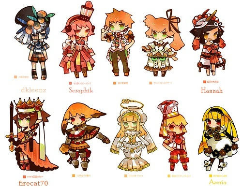 [ACP12] 100 Coloured pencil Gijinka group! -Open group- >>39/100<< Orange11