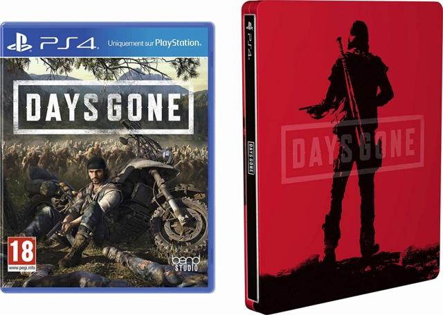 Days Gone + le Steelbook : N° 1 des ventes sur Amazon 91stcz10