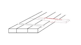Les liaisons d'élargissement pour panneaux de bois Clefs110