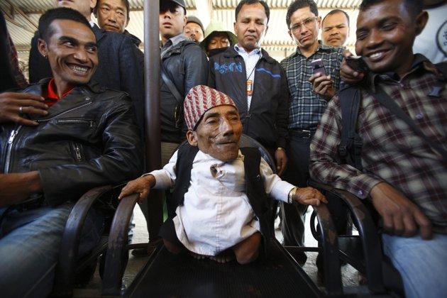 L'homme le plus petit de l'histoire 2012-013