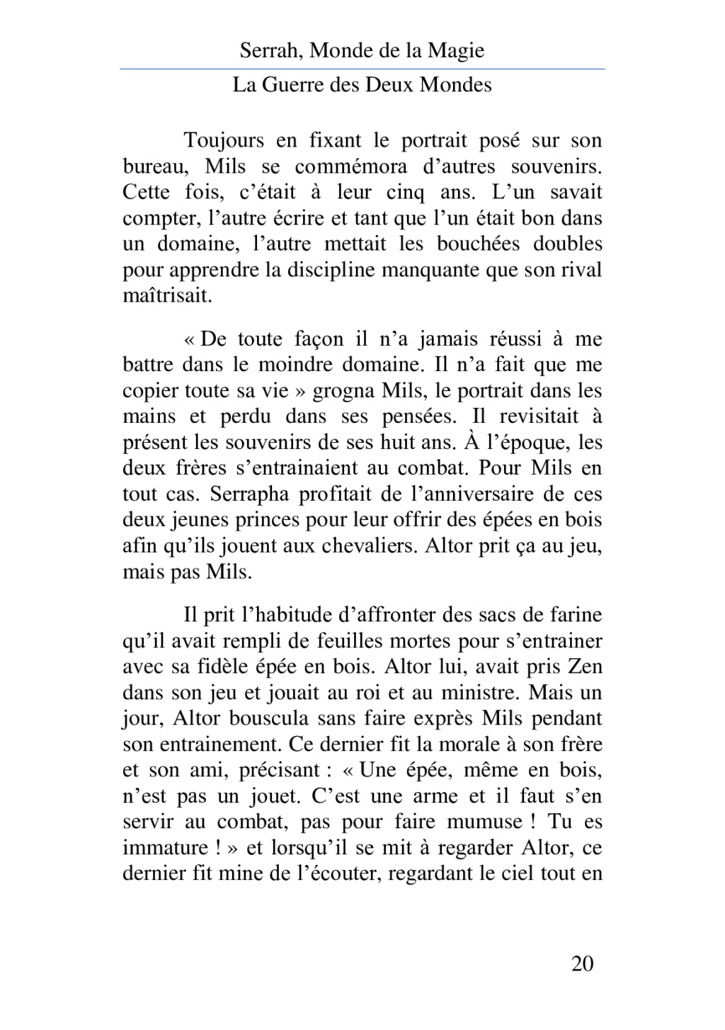 Chapitre 4 - La rivalité fraternelle 40172012