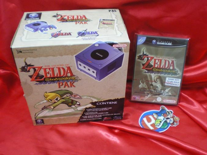 Listing Pack GameCube limited Pal FR Gamecu10