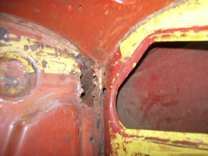 Restauration d'une Renault 17 TL Découvrable de 1973 100_9127