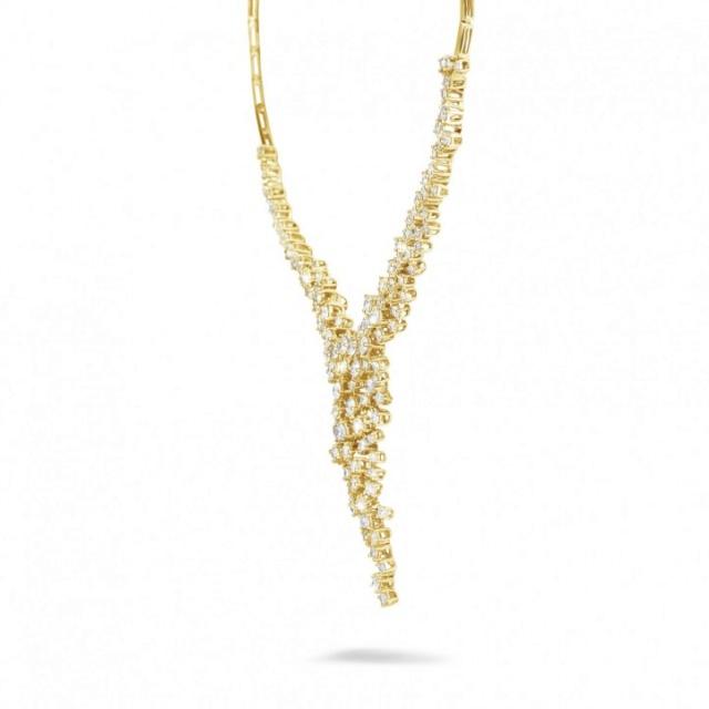 soudure nombreux chaton en or avec diamant 5-90-c11