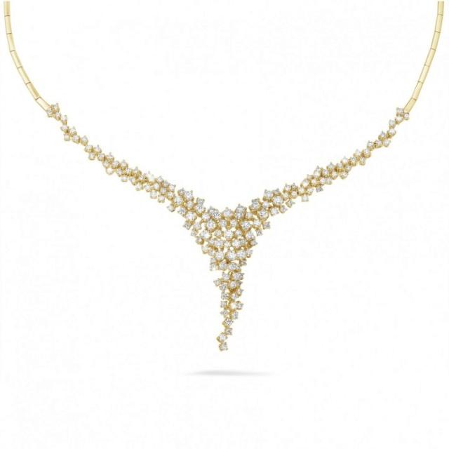 soudure nombreux chaton en or avec diamant 5-90-c12