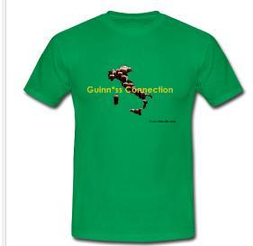 Guinn*ss Connection - Nuova Maglietta Maglie10