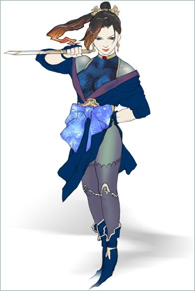 Izayoie, the Kunoichie. Izayoi10