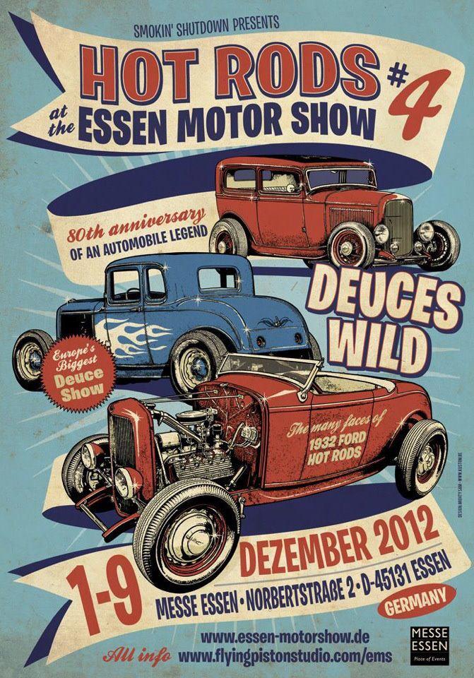 Hot rod #4 Essen motor show Pear1010