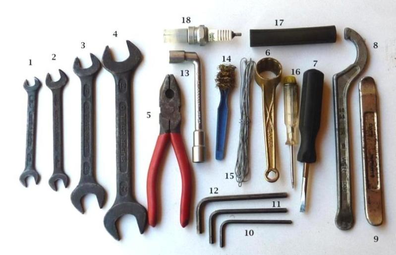 la trousse à outil MZ Outils10