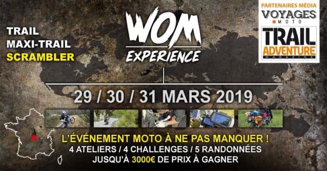 WOM EXPERIENCE : événement unique Trail et Maxitrail Evenem10