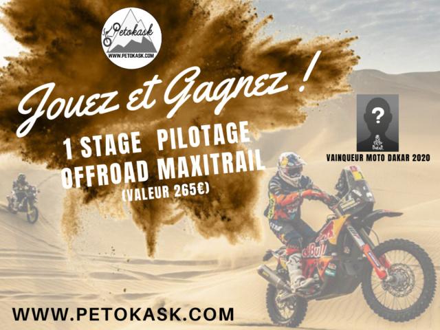 GAGNE 1 stage de pilotage tout-terrain maxitrail - PETOKASK Stage_20