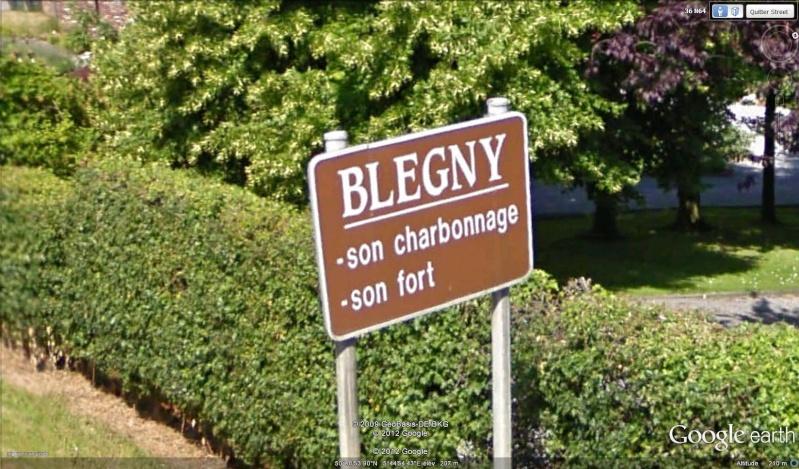 Street View : Les panneaux qui résument ce qu'il faut voir sur la commune  Blegny10