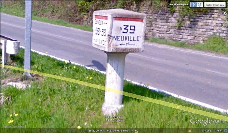 STREET VIEW : les bornes et les plaques Michelin Borne_13