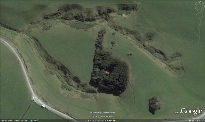 [Nouvelle-Zélande] - Bosquet sculpté par le vent au Slope Point Bosque10