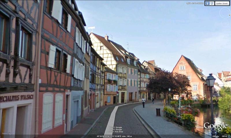 STREET VIEW : les cartes postales de Google Earth - Page 4 Colmar10