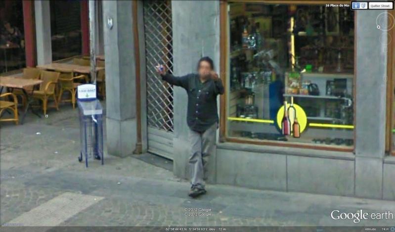 STREET VIEW : un coucou à la Google car  - Page 18 Coucou12