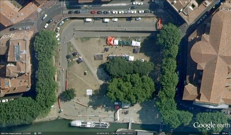 Fêtes, concerts et autres attroupements sur Google Earth  Course13