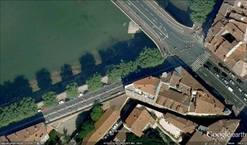 Fêtes, concerts et autres attroupements sur Google Earth  Course14