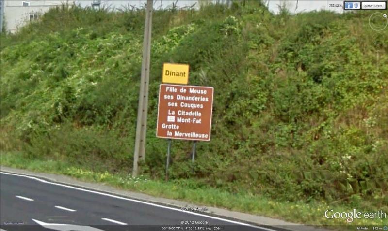 Street View : Les panneaux qui résument ce qu'il faut voir sur la commune  Dinant10