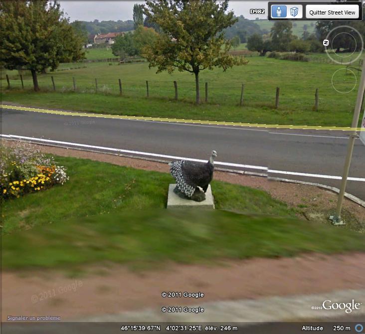 STREET VIEW : Les statues d'animaux dans le monde - Page 2 Dindon10