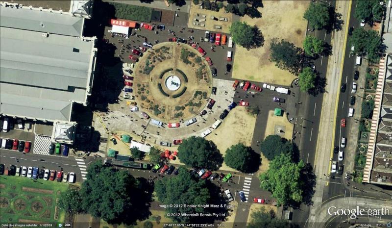 Fêtes, concerts et autres attroupements sur Google Earth  Exposi10
