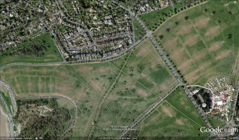 Fêtes, concerts et autres attroupements sur Google Earth  Foot10