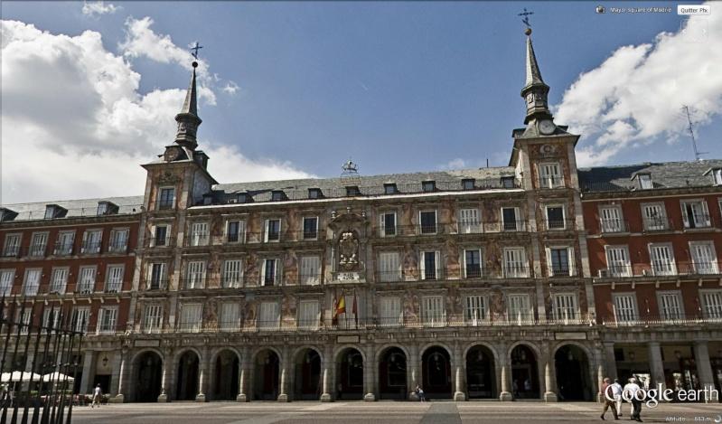 plaza Mayor Madrid Espagne Fresqu13