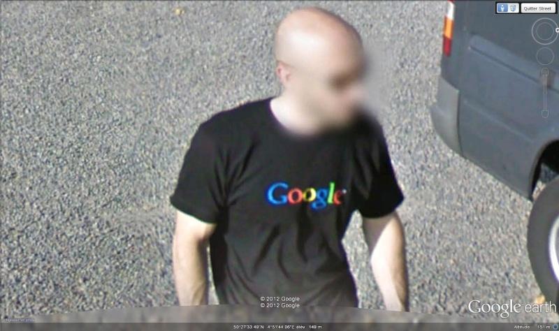 Street View : Les T-shirts Google  Google12