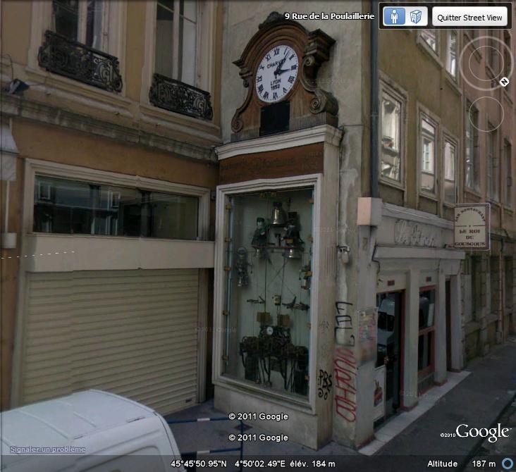 Horloge Charvet à Lyon, Rhône - France Horlog10