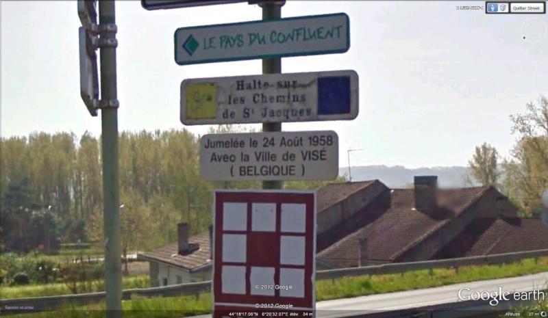 STREET VIEW : les panneaux de jumelage - Page 2 Jumela12