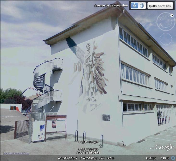 STREET VIEW : les fresques murales en France - Page 9 Lecler10