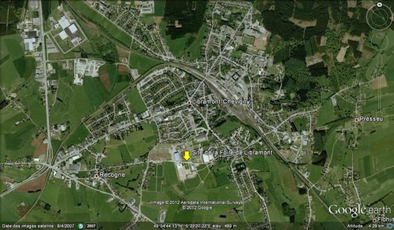 Site de la foire agricole de Libramont (Belgique) Libram10