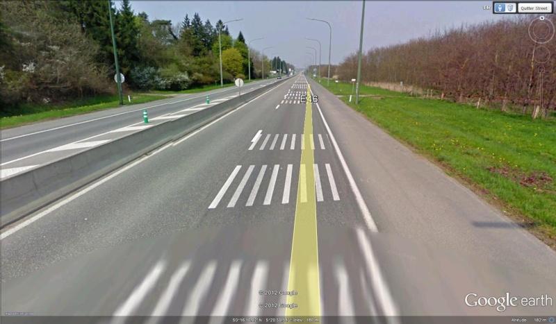 Street View : La Belgique : Pays du surréalisme Marqua10