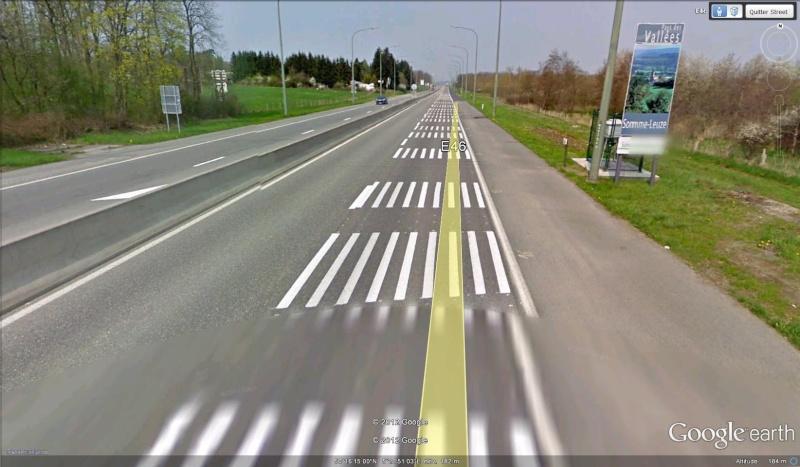 Street View : La Belgique : Pays du surréalisme Marqua11