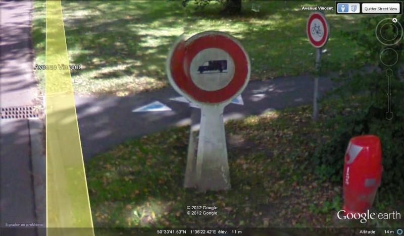 STREET VIEW : les bornes et les plaques Michelin Michel12
