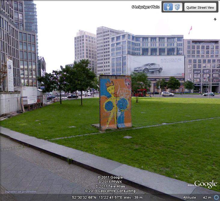 STREET VIEW: East Side Gallery, Berlin, Allemagne Mur_1_10