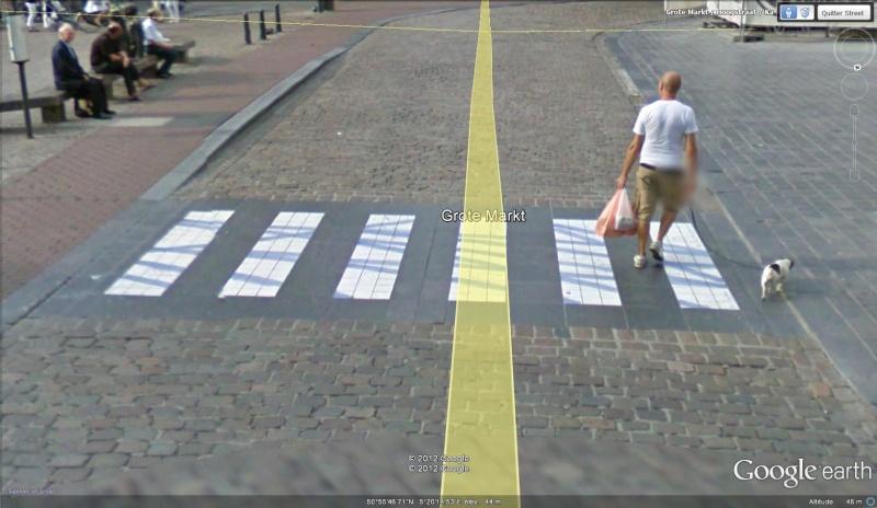 Street View : La Belgique : Pays du surréalisme Passag10