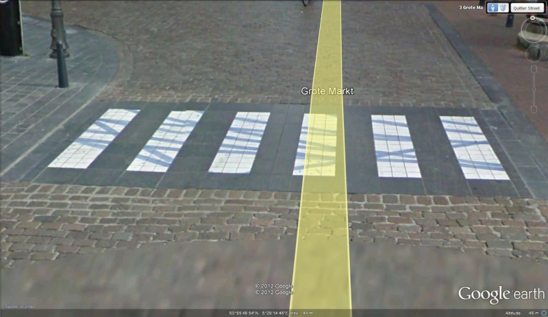 Street View : La Belgique : Pays du surréalisme Passag11