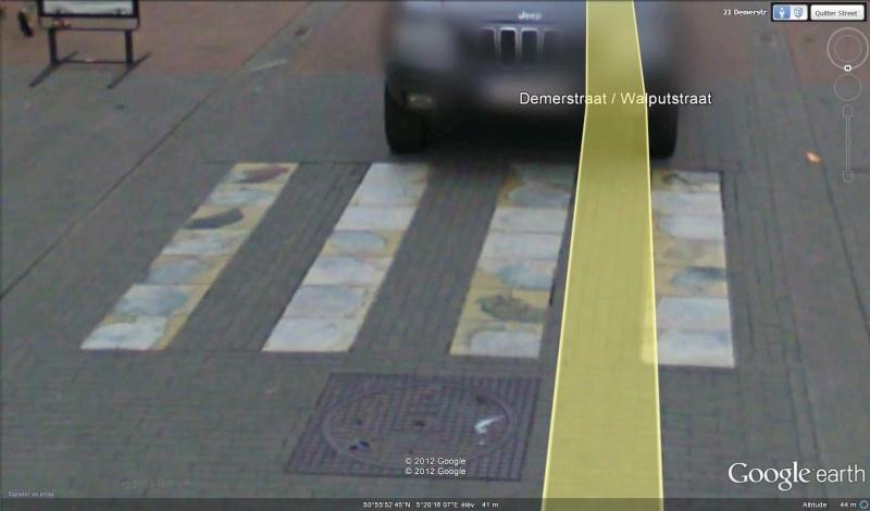 Street View : La Belgique : Pays du surréalisme Passag12